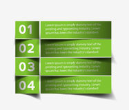 Information Banner Design Element Stock Images