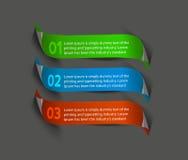Information banner design Royalty Free Stock Images