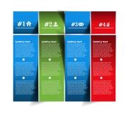 Information banner design Stock Image
