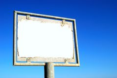 Information board Royalty Free Stock Images