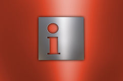 Information button Stock Photography