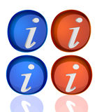 Information button Royalty Free Stock Photo