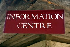 Information Center Sign Royalty Free Stock Photo