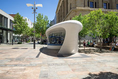 Information Centre at Forrest Place and Murray Street in Perth Stock Photography