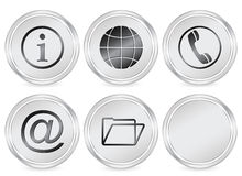 Information circle icon Royalty Free Stock Photo