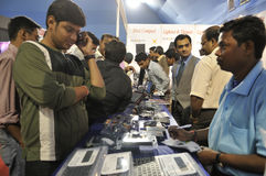 Information and Communication Technology Fair. Royalty Free Stock Image