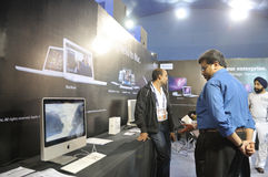 Information and Communication Technology Fair. Stock Photography