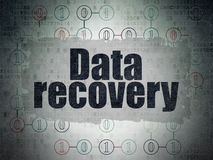 Information concept: Data Recovery on Digital Stock Photography
