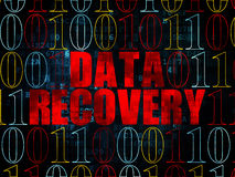 Information concept: Data Recovery on Digital Royalty Free Stock Photography