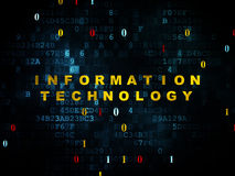 Information concept: Information Technology on Stock Image