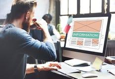 Information Content Data Statistics Details Info Concept Stock Photos