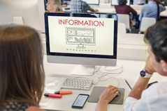 Information Data Analytics Business Results Concept Stock Images