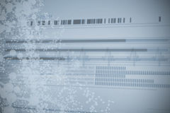 Information data of dna Royalty Free Stock Photo