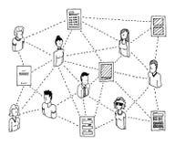 Information Data Network Stock Photos
