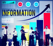 Information Data Research Facts Source Concept Stock Photos