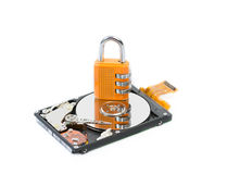 Information and Data security Royalty Free Stock Photos