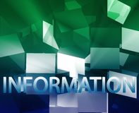 Information data structures Stock Images