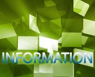Information data structures Stock Image