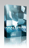 Information data structures box package Stock Image