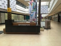 Information Desk in the Shopping Mall Royalty Free Stock Photo