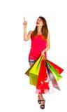 Information för att shoppa folk Royaltyfria Foton