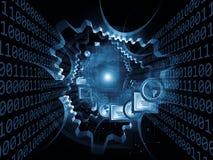 Information Gears Stock Photo