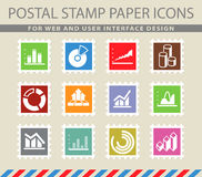 Information graphic icons Royalty Free Stock Photos