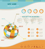 Information Graphics vector Royalty Free Stock Image