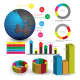 Information-graphiques Photo stock