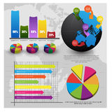 Information-graphiques Image libre de droits