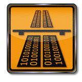 Information highway Stock Image
