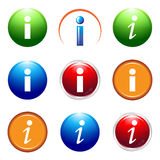 Information icon Royalty Free Stock Photography