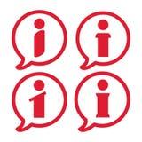 Information icon, info sign icon, informant symbol on white background, information logo, informant sign,. Vector artwork Royalty Free Illustration