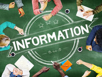 Information Info Data Facts Source Concept Stock Photos