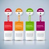 Information infographics design Stock Photos