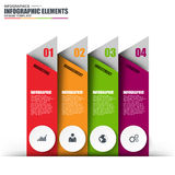 Information infographics design Royalty Free Stock Image