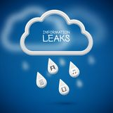 Information Leaks Stock Photo