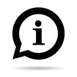 Information mark or bubble Royalty Free Stock Photo