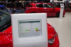 Information om Lexus minnestavla Royaltyfri Fotografi