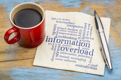 Information overload concept Stock Photography