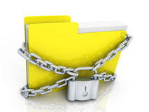 Information protection concept Stock Photography