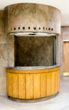 Information reception desk Stock Images