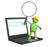 Information search Stock Image