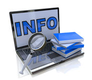Information search Stock Images