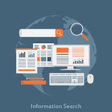 Information search Royalty Free Stock Photography