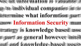 Information Security Royalty Free Stock Photography