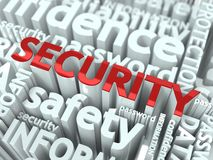 Information Security Concept. Stock Image