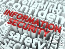 Information Security Concept. Stock Photography