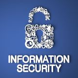 Information Security Concept. Royalty Free Stock Images