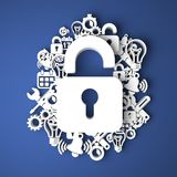 Information Security Concept. Royalty Free Stock Photography
